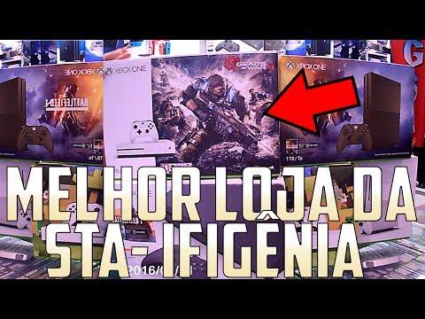 VLOG#01 🎮 UM DIA NA MELHOR LOJA DE GAMES DE SÃO PAULO - GSA GAMES STA - IFIGÊNIA