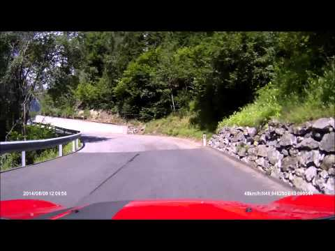 Villach to Mölltaler Gletscher to Villach (Rollei CarDVR-110)