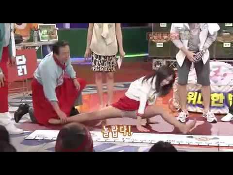 Park Shin Hye Doing The Split