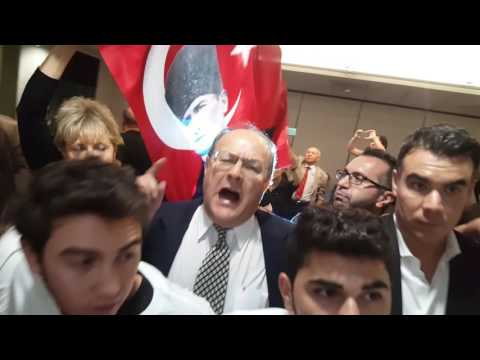 Armenian Youth Shut Down Turkish State Propaganda On College Campus PART TWO