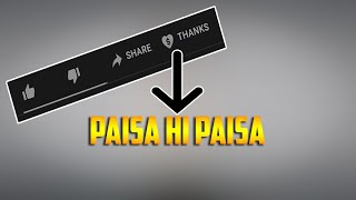 Good news for youtubers | Youtube New feature  Super Thanks |  ab sabko milega super chat.