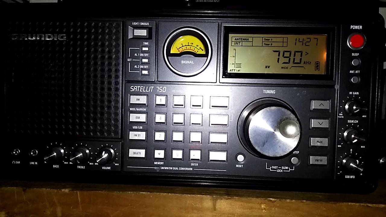 AM MW DX Of Atlanta Radio Korea 790 WQXI On KHz From Georgia USA