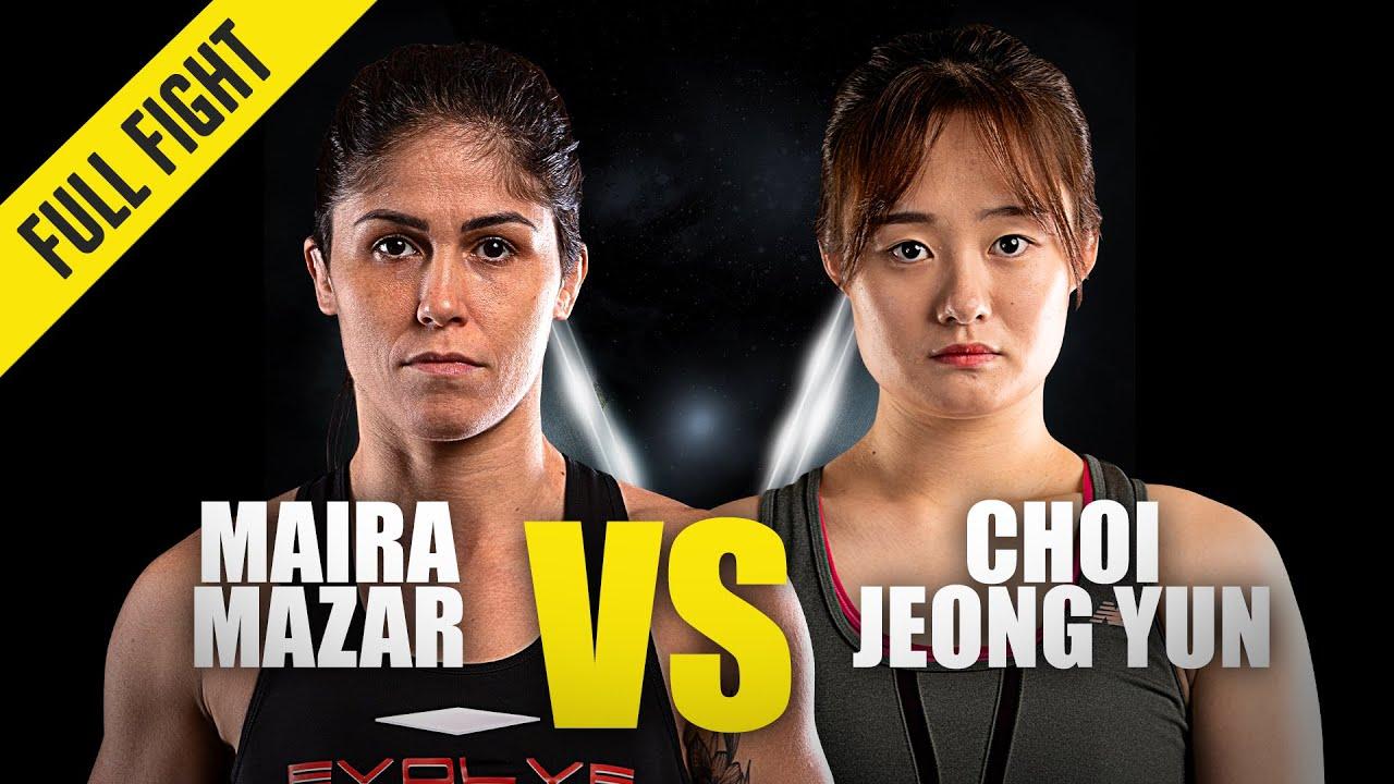 Maira Mazar vs. Choi Jeong Yun | ONE Championship Full Fight