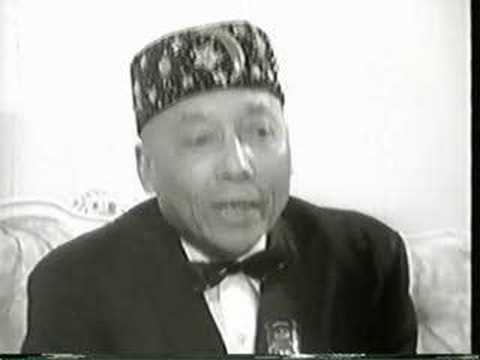 Hon Elijah Muhammad Interview - Part 1