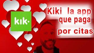 Kiki una aplicación de citas que te paga por utilizarla | Opinión | Análisis | Vlog | Español | 2018