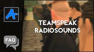 fAQ: Звуки рации для TeamSpeak3 и как их установить