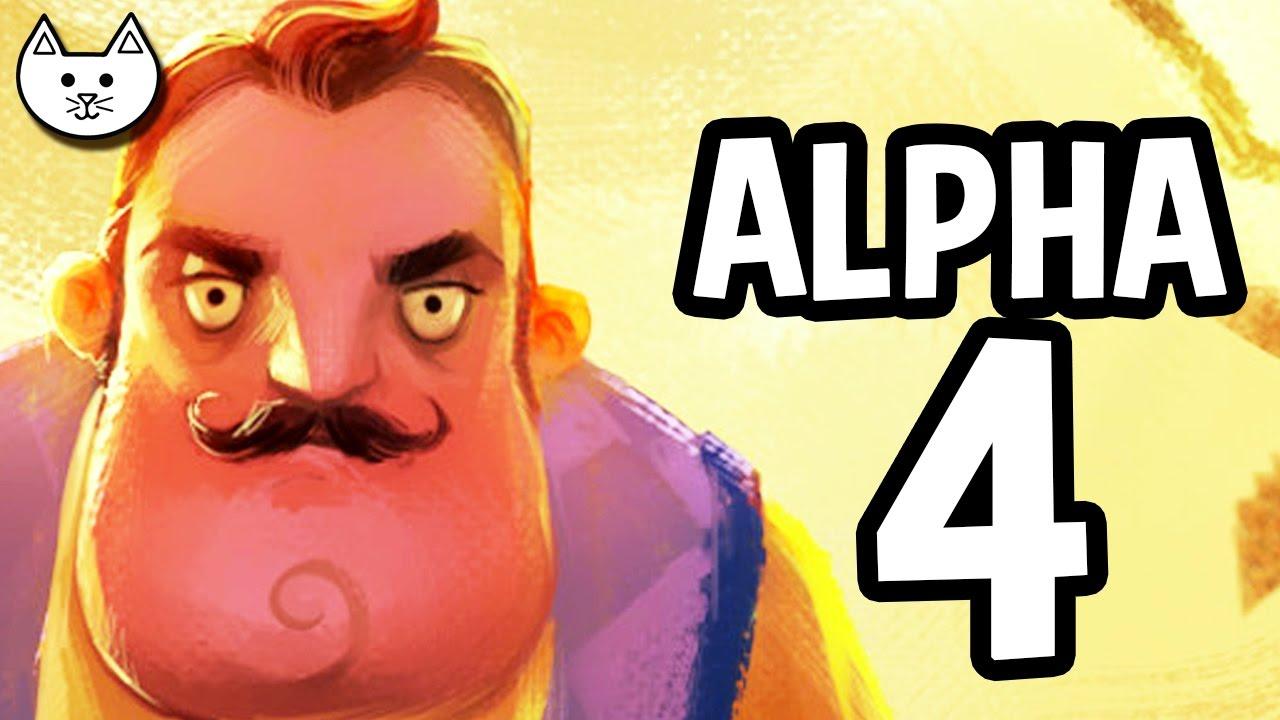 Hello Neighbor Alpha 4 Gameplay Live Hello Neighbor