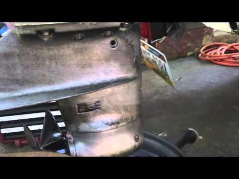 1986 force chrysler outboard 50hp lower unit gear oil change