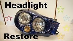 Project Impreza Wagon 2001  --  Morette Headlights restoration