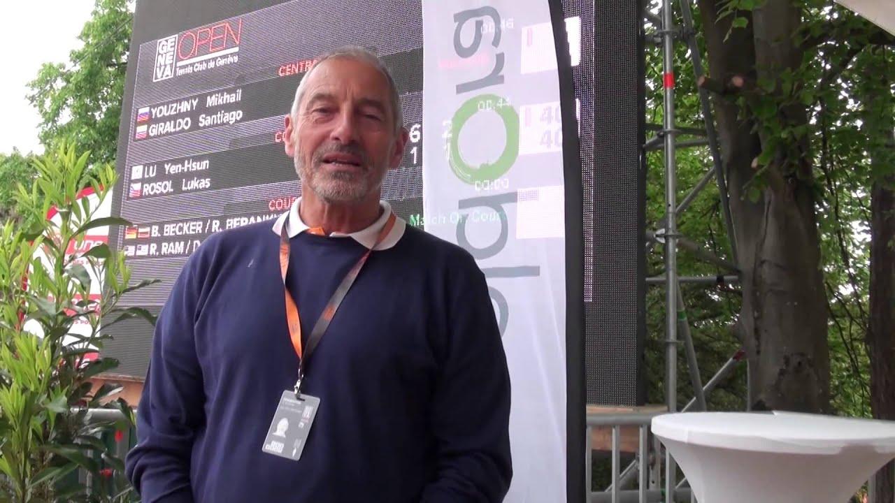 Interview de Jean-Pierre Hufschmid, Directeur du Tennis Club de Genève