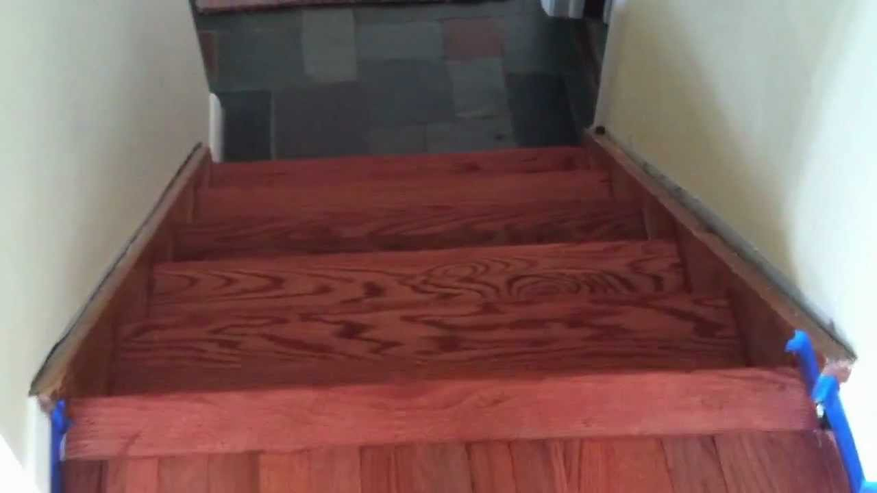 Img 0955 Movsanded Harwood Floor Amp Stained Sedona Red By