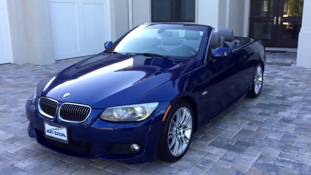 2013 bmw 335i cabrio for sale by auto europa naples youtube. Black Bedroom Furniture Sets. Home Design Ideas