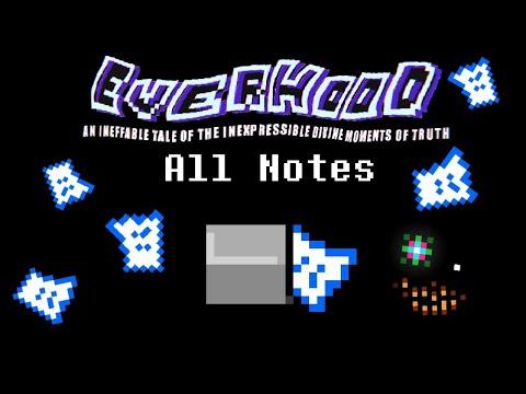 [SPOILERS WARNING] [EN] Everhood - All Notes |