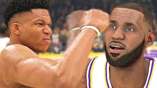 GIANNIS PUNCHED LEBRON JAMES' STATS! NBA FINALS PREVIEW! - NBA 2K20 MyCAREER #24