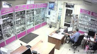 Тестовая видеозапись с AHD видеокамеры AMATEK AC-ADV203V