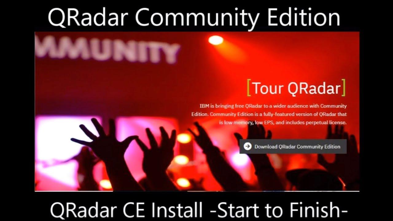 QRadar (CE) – HendGrow