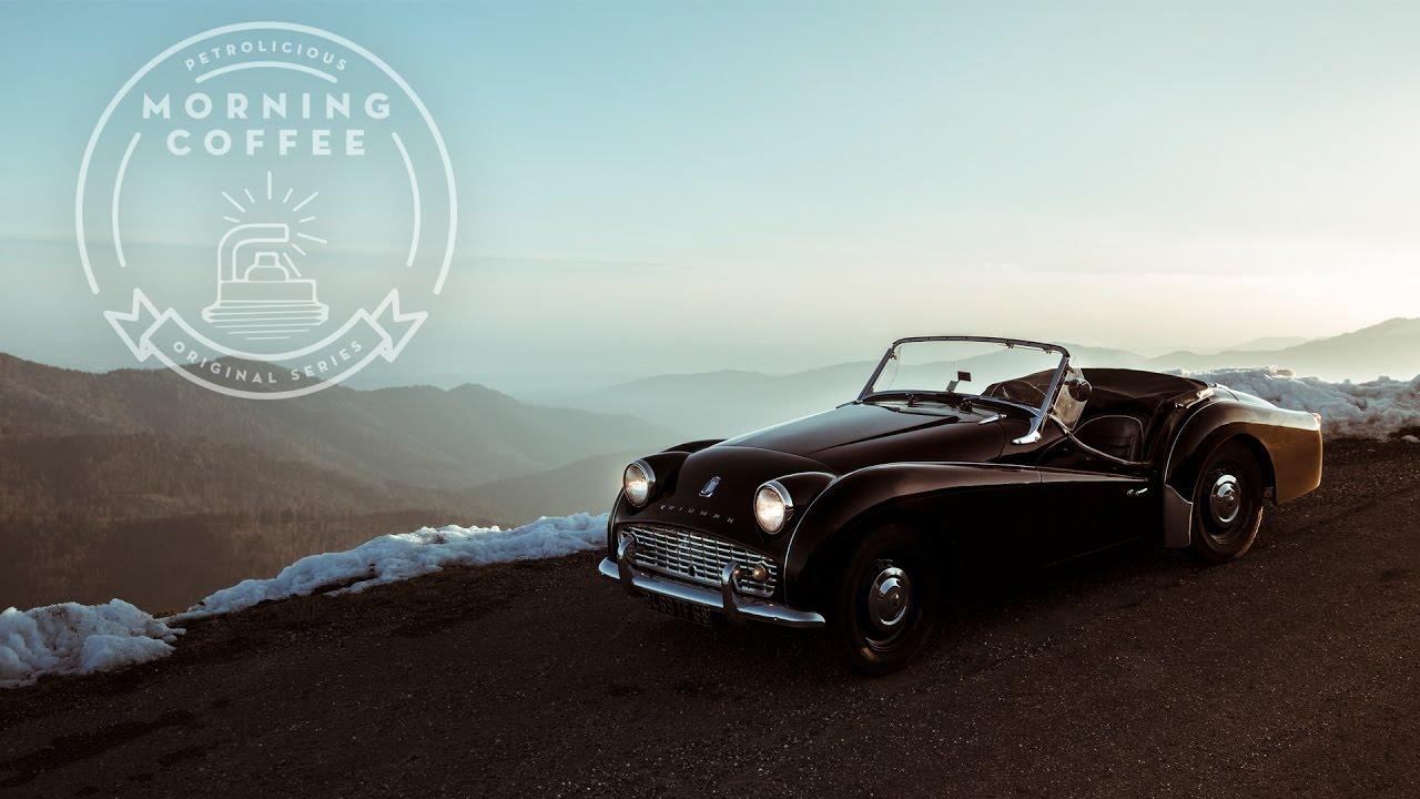 A Triumph TR3A to Warm Up a Cold Morning • Petrolicious