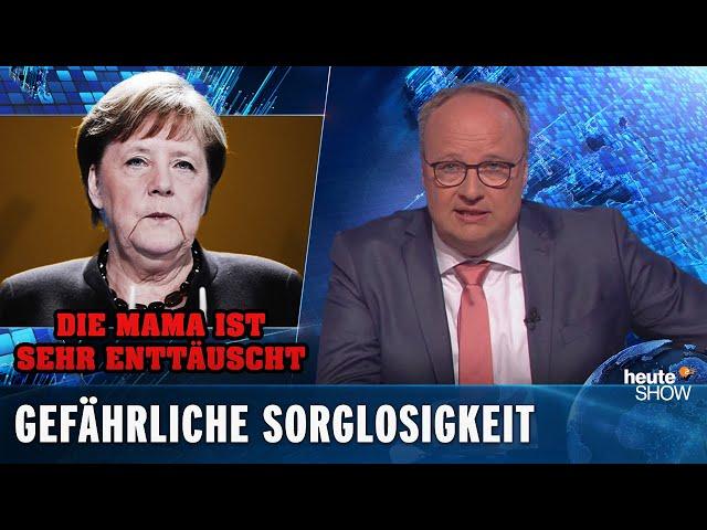 Coronakrise: fünf Tage Lockerungen – und alle schlagen über die Stränge | heute-show vom 24.04.2020