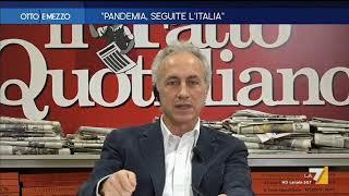 """Coronavirus, Marco Travaglio: """"annuncio Di Conte? Immagino Si Arriverà Alla Chiusura Totale"""""""