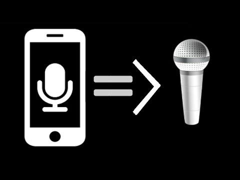 Biến Điện Thoại Thành MICRO (Hát Karaoke)