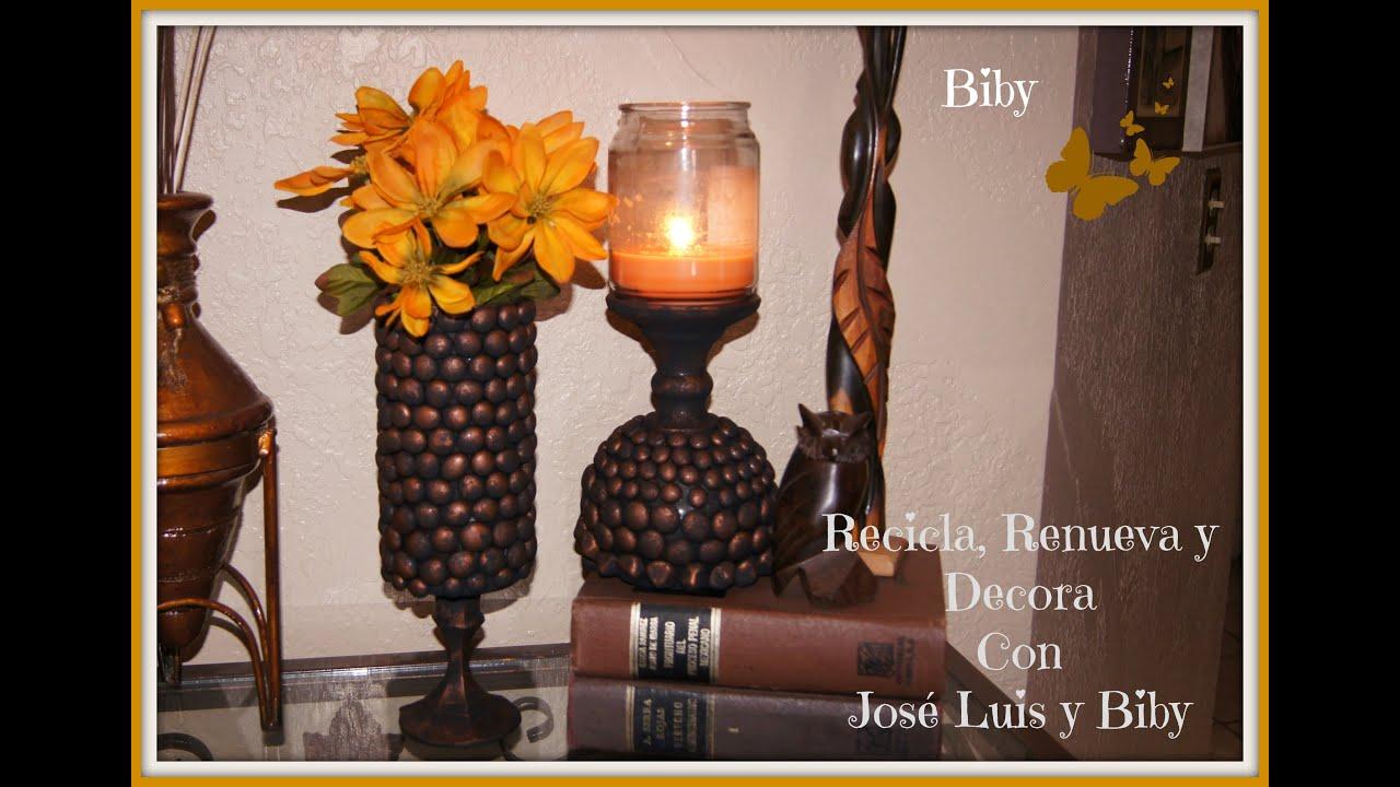 Base para centro de mesa o porta velas decora tu casa - Base de vela ...