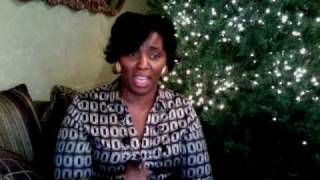 Tracey Curry-Bell singing Someday at Christmas, Mary J. Blige.