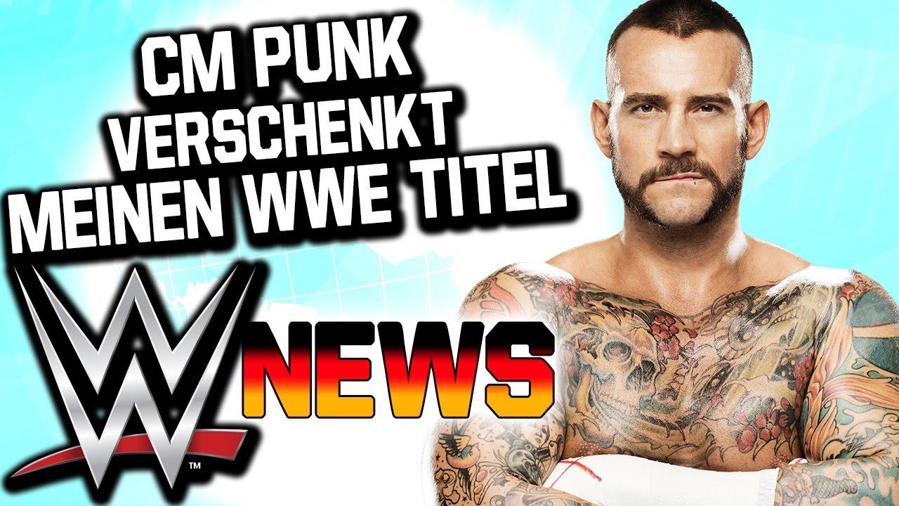 Download CM Punk verschenkt meinen WWE Titel?, TNA Network | WWE NEWS 102/2016