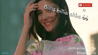 Billi Billa Akha 👀 by Guri // Att whtsup status song