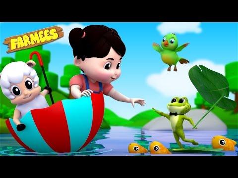 Rain Rain Go Away | Nursery Rhymes | Kids Songs | Childrens Rhymes by Farmees S02E62