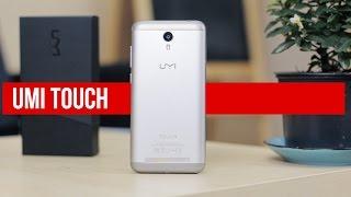 UMI Touch: распаковка и первое впечатление. Посылка от производителя.