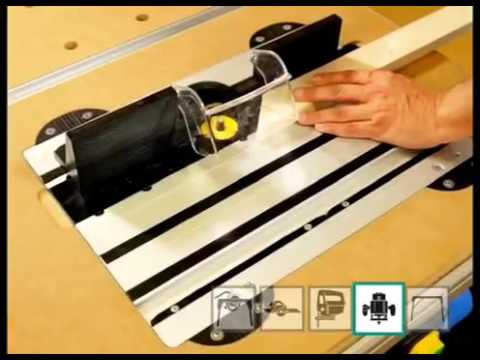 wolfcraft master cut 2000 saw table and work station youtube. Black Bedroom Furniture Sets. Home Design Ideas