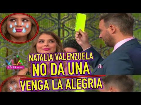 Natalia Valenzuela NO DA UNA HACE PERDER a su EQUIPO en VENGA LA ALEGRÍA
