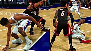NBA 2K18 MyCAREER - MARKELLE FULTZ IS A BUST!! I BROKE HIM AND BEN SIMMIONS ANKLES! 😱🏀