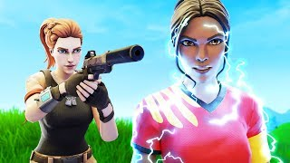 SOCCER SKIN GETS HUNTED BY A NOOB | A Fortnite Short Film