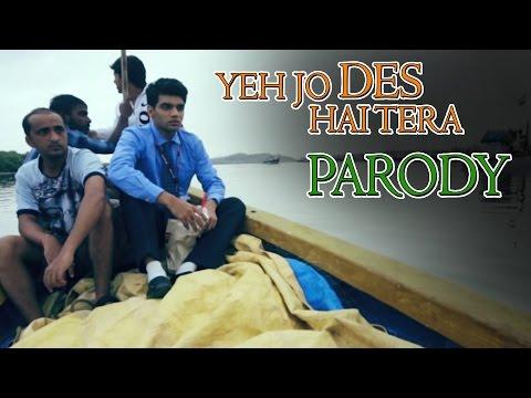 Swades Yeh Jo Des Hai Tera Song Parody || Shudh Desi Gaane || Salil Jamdar