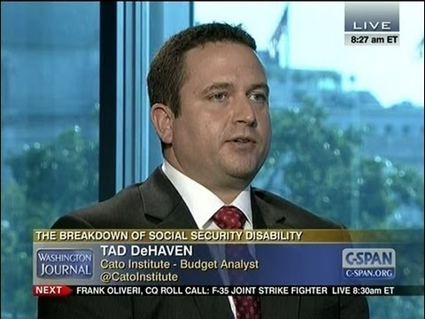 Tad DeHaven on the increasing cost of social security disability insurance on C-SPAN