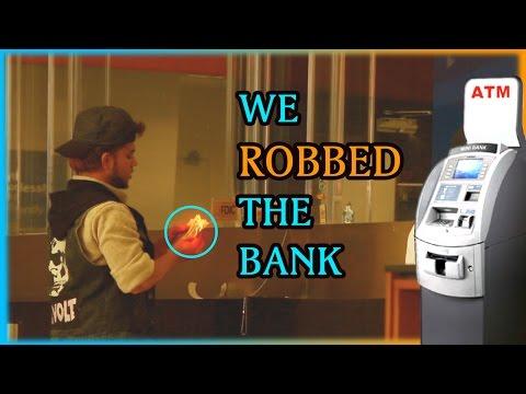 THE BANK ROBBERY PRANK!