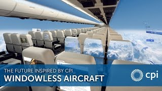 aerospace windowless aircraft the future inspired by cpi