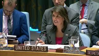 UN Security Council Meeting on Burma