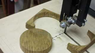 Band Saw Circle Cutting Jig