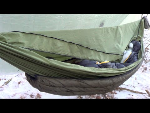 Winter Hammock Camping - Winter Hammock Camping - YouTube