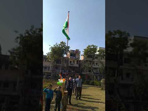 Celebrating Republic Day In Nehru Nagar (Delhi)