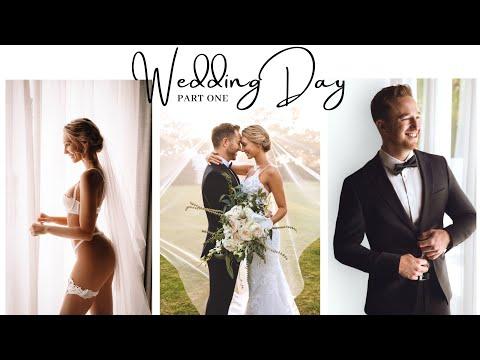 OUR WEDDING DAY // Mariah \u0026 Gal // VLOG PART 1