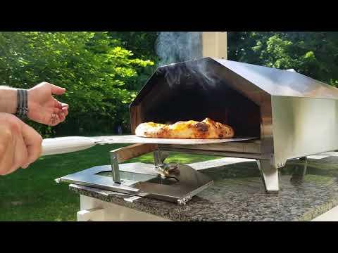 Uuni Pro Pizza Oven on Wood Pellets 2