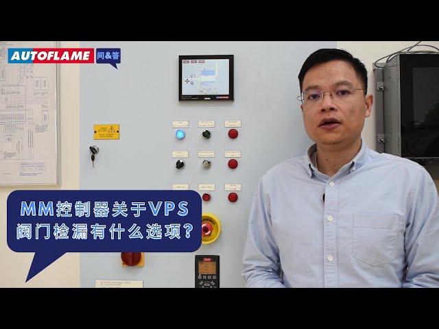 问与答 | MM控制器关于VPS阀门检漏有什么选项?