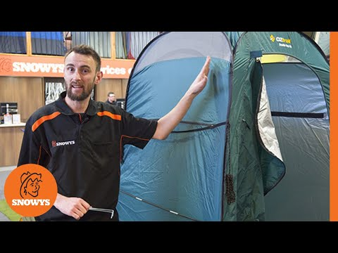 OZtrail Pop Up Ensuite Shower/Toilet Tent