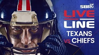 Texans vs Chiefs AFC Divisional Round In-Game Bets | Live Line