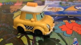 Журнал Поли Робокар 3 в подарок такси Кэп