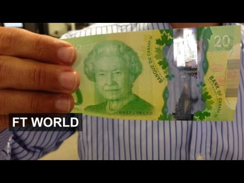 Bank of England ponders plastic notes | FT World
