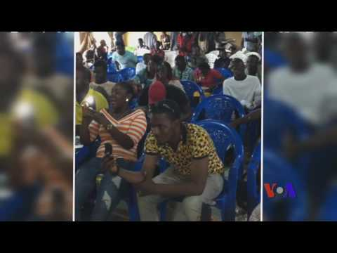 Teddy Ride- VOA Town Hall on Post Ebola - Monrovia